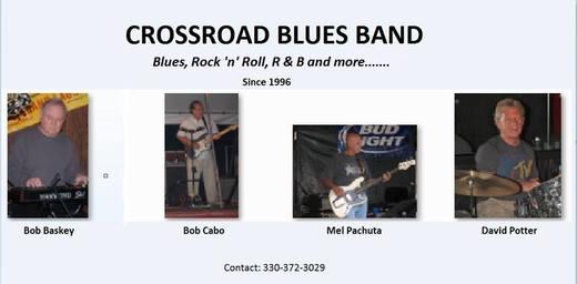 Portrait of Crossroad Blues Band