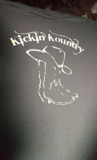Portrait of Kickin' Kountry Band
