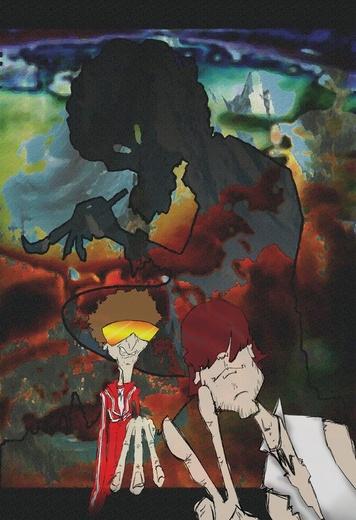 Portrait of Doc Magik & Lil Venom Boy