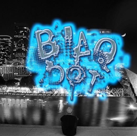 Portrait of Blaq Dot