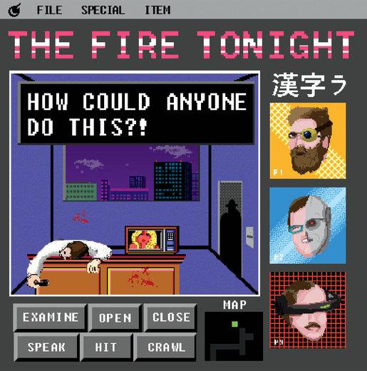 Portrait of The Fire Tonight