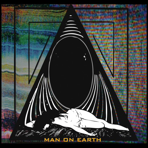 Portrait of Man On Earth