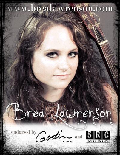 Portrait of Brea Lawrenson