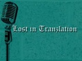 Portrait of Lost In Tranzlation