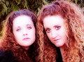 Portrait of Karen and Amy Jones