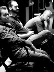 Portrait of Tom Savage Trio