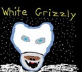 Portrait of White Grizzly