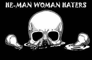 Portrait of heman woman haters