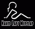 Portrait of Naked Lady Mudflap