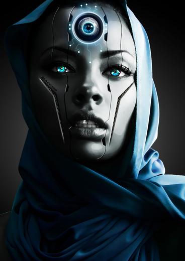 Portrait of Evaporator Blue