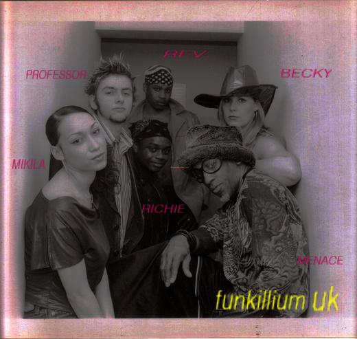 Untitled photo for MENACE - THE FUNKILLIUM TRILOGY