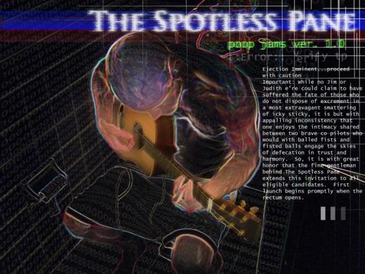 Portrait of The Spotless Pane