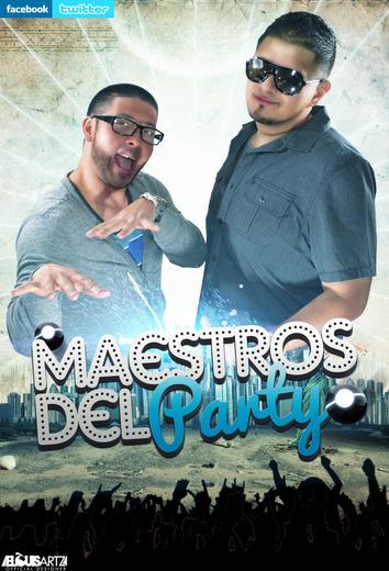 Portrait of Maestros Del Party