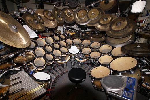Portrait of drummerman1