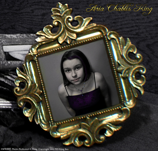 Portrait of Aria Chablis King