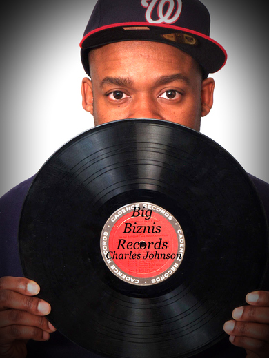 Portrait of Charles Johnson Big Biznis Records