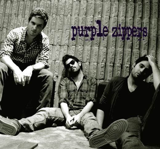 Portrait of Purple Zippers