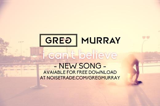 Portrait of Greg Murray