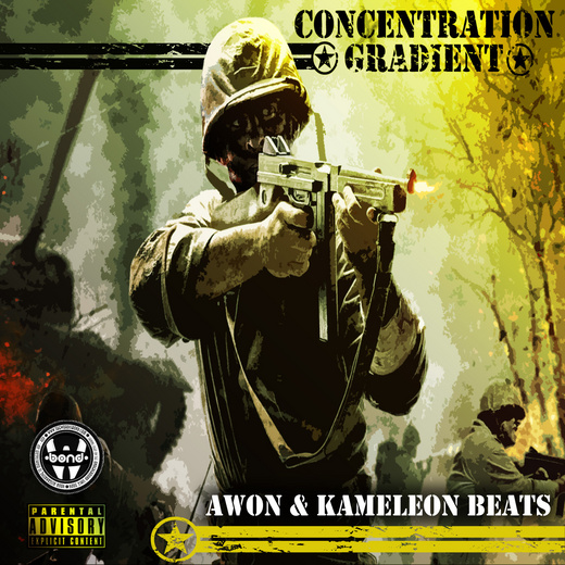 Portrait of Awon & Kameleon Beats