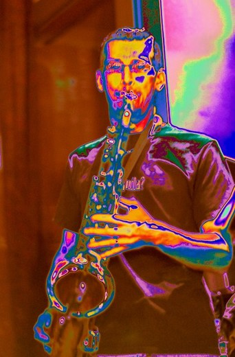 Portrait of All Thats Sax
