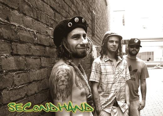 Portrait of secondhandreggaeband