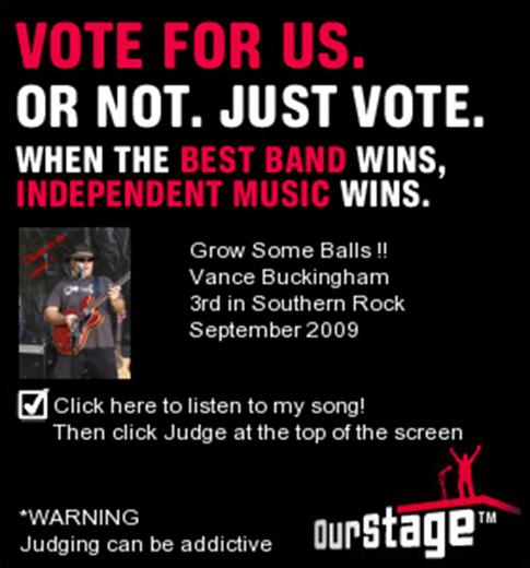 Untitled image for Vance Buckingham