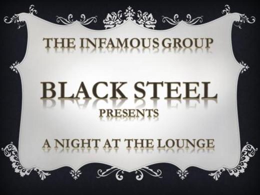 Portrait of Black Steel