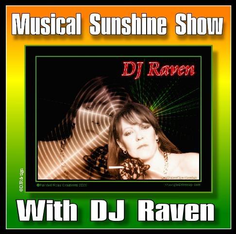 Portrait of DJ Raven