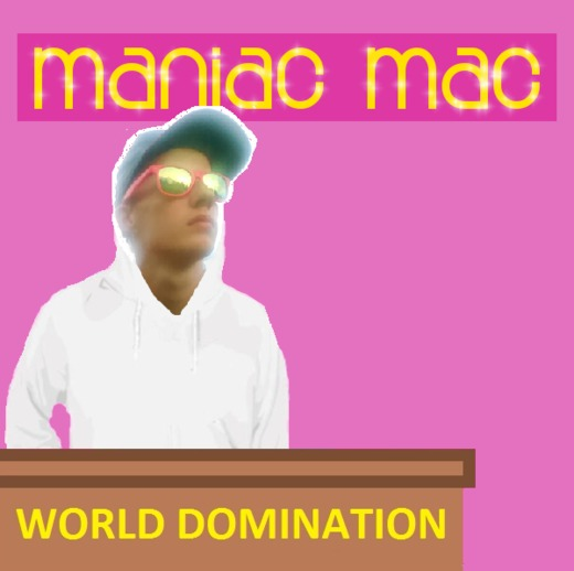 Portrait of Maniac Mac