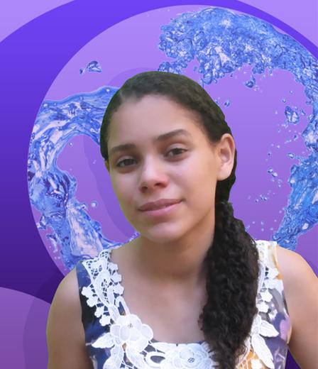 Portrait of Samira Nazareth