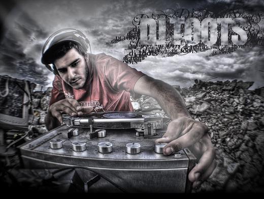 Portrait of DJ Toots