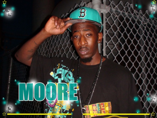 Portrait of Moore