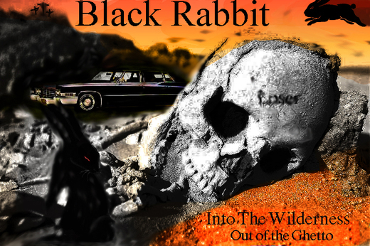 Portrait of Black Rabbit 22