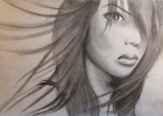 Portrait of WendyCharaja