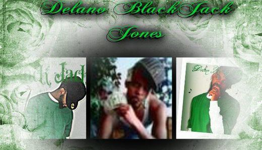 Portrait of Delano BlackJack Jones