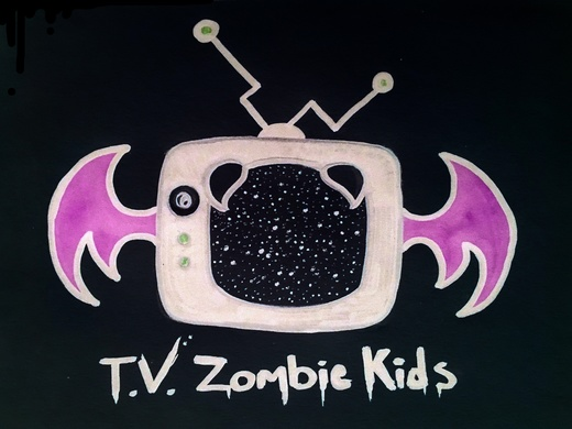 Portrait of T.V. Zombie Kids