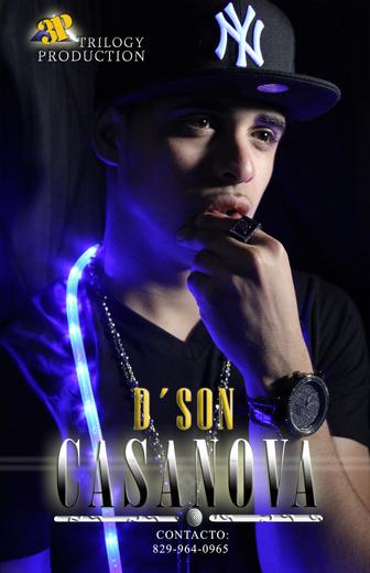 Portrait of dson casanova