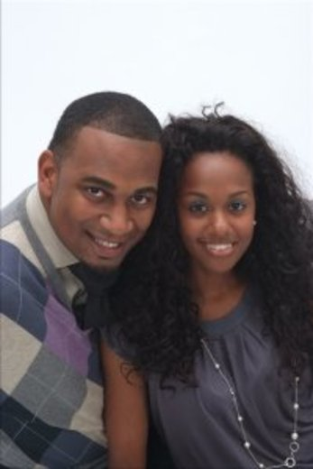 Portrait of Ernest and Ericka Jackson