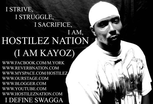 Portrait of KAYOZ(HOSTILEZNATION)