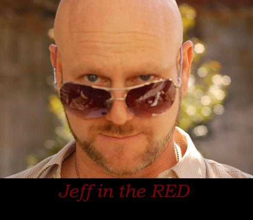 Portrait of Jeff In The Red