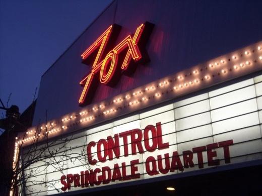 Untitled image for Springdale Quartet