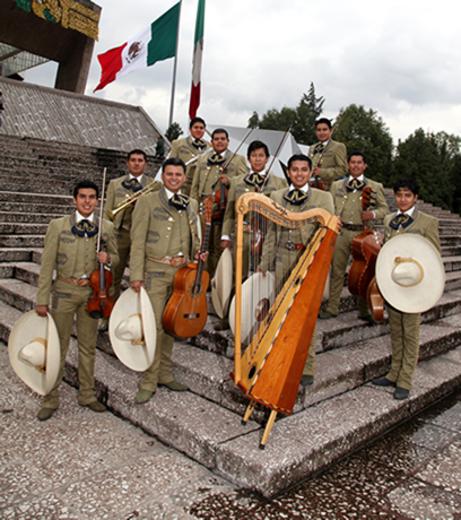 Portrait of Mariachi Nacional de México