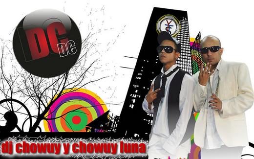 Portrait of Dj Chowuy y Chowuy Luna. DC