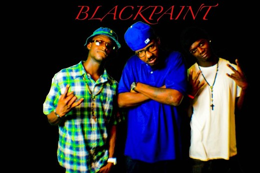 Portrait of blackpaint