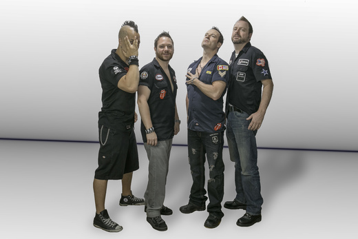 Portrait of Garage Boys