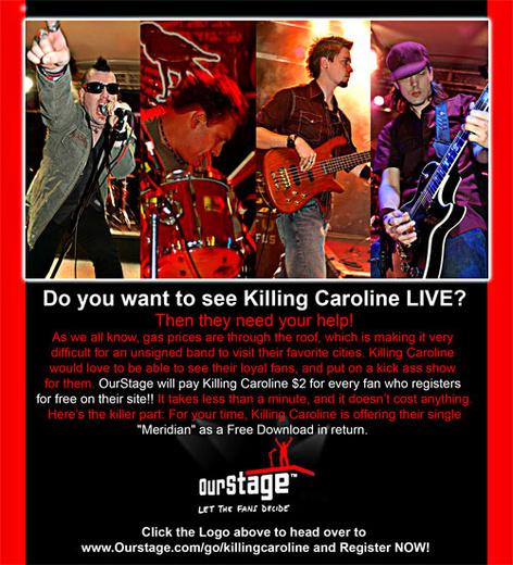 Untitled image for Killing Caroline