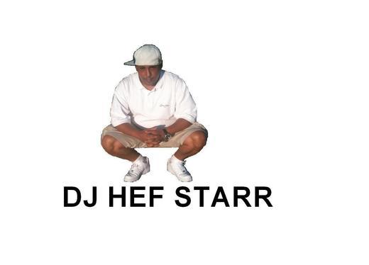 Portrait of DJ HEFSTARR