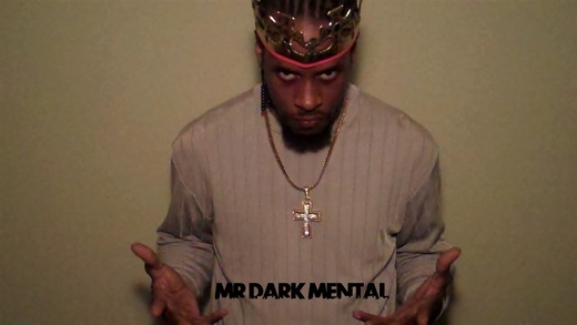 Portrait of MR. DARK MENTAL
