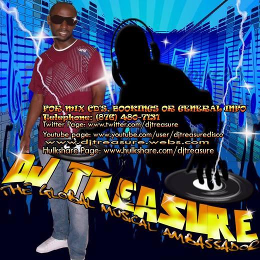 Portrait of DJ Treasure