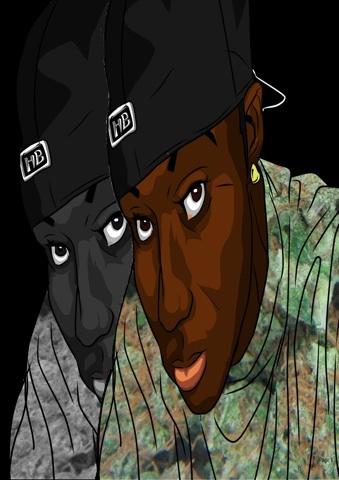 Portrait of K. Hush